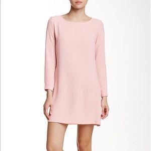 American Apparel Gia Crepe Sleeve Mini Dress